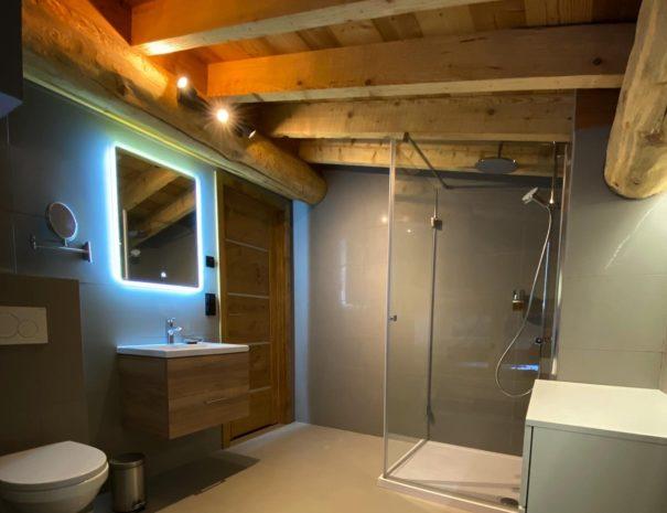 salle de douche chambre familiale